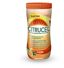 Citrucel Fiber Orange Mix Powder